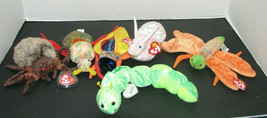 TY Beanie Babies Set of 6 Bugs Insect Collection - $24.98