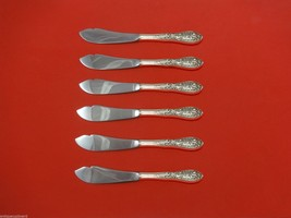 Southern Grandeur by Easterling Sterling Silver Trout Knife Set 6pc Custom Made - $366.80