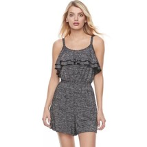 Juicy Couture Charcoal Gray Le Grand Prixe Romper Women's Sz S or L NWT ... - $24.36