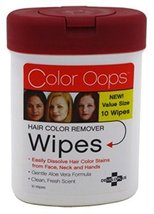 Developlus Color Oops Hair Color Remover Wipes 10'S (6 Pack) - $26.93