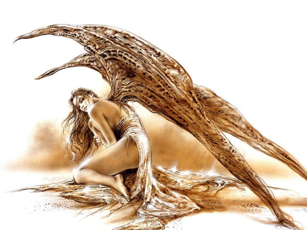 Luis Royo Art oil painting printed on canvas home decor