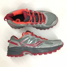 Saucony Women's Size 6 Excursion TR 11 Trail Running Shoe Grey Pink S103... - $35.29