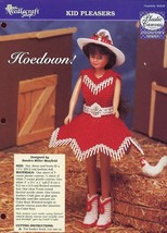 Hoedown! Cowgirl Outfit for Barbie Plastic Canvas PATTERN/INSTRUCTIONS/NEW - $1.77
