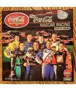 Coca Cola Nascar Racing Board Game Official 1st Edition COMPLETE Cam Rid... - $19.75