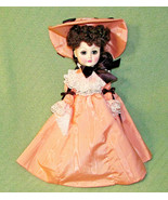 1981 EFFANBEE Dolls That Touch Your Heart Vintage Brown Hair Dress Hat S... - $27.32