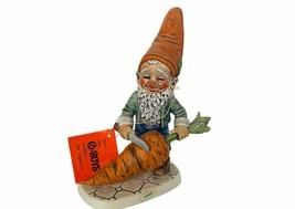 Goebel Gnome Figurine Hummel Co Boy Dwarf Germany vtg Robby Carrot veget... - $84.15