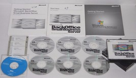 Microsoft Back Office, Small Business Server 4.0 With Service Pack & Man... - $33.32