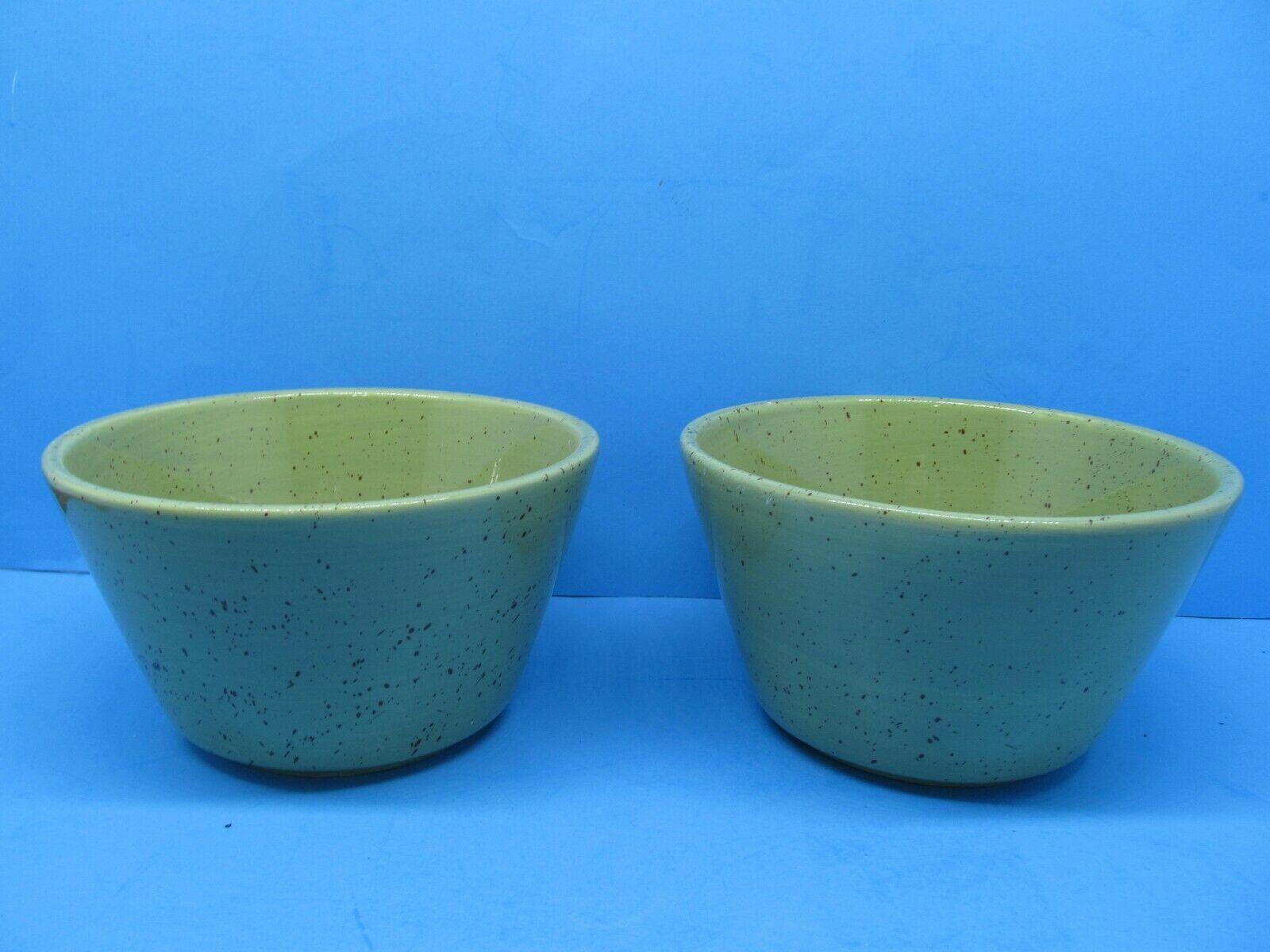 Pfaltzgraff Nuance of Sage Cereal Soup Bowls Discontinued Bundle of 2 - $19.18