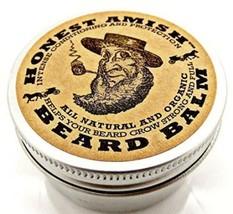 Honest Amish Beard Balm Leave-in Conditioner Vegan Friendly Organic Oils... - $14.81