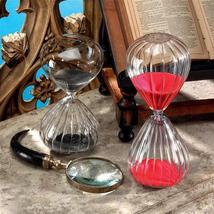 Kronos Glass Sand Timer Collection: Set of Two - $33.00