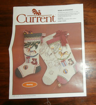 """Current """"Make A Stocking"""" 17"""" Long Embroider or Paint - $9.74"""