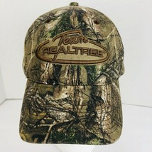Team Realtree Camo Baseball Cap Hat Embroidered Adjustable Back Brown - $27.71