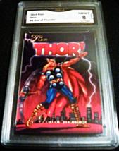 1994 Flair Marvel #4 Origin of Thor GMA Graded 8 NM-MT non sports card n... - $7.75