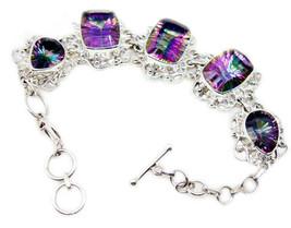 indian 925 Sterling Silver pulchritudinous Natural Multi Bracelet gift UK - $159.82