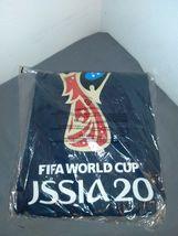 FIFA Men's Russia 2018 Logo Tees, Blue//Color Trophy, x-Large image 3
