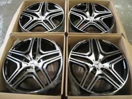"New 22"" ML63 Amg Style Wheels Rims Mercedes Benz Gl GL450 GL550 GL350 Set 4 - $1,039.49"