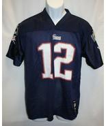 Patriots Brady #12 Jersey Size X-Large Reebok NFL - $19.79