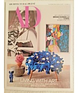 ARCHITECTURAL DIGEST MAGAZINE Dec 2017 - LIVING WITH ART - $9.89