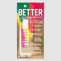 BETTER Ultimate Adhesive:  Clear Non Toxic Permanent Glue