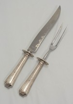 "Colfax by Durgin-Gorham Sterling Silver Roast Carving Set, K 13 5/8"" & F... - $165.00"