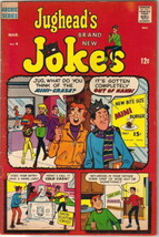 Jughead's Jokes Comic Book #4 Archie Comics 1968 FINE- - $7.61