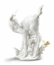 Lladro Porcelain Retired 01009136 Hi there! Brand New 9136 butterfly faw... - $327.25