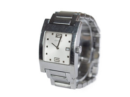 Auth GUCCI 7700M Silver Dial Stainless Steel Quartz Men's Watch GW1913 - $269.00