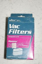 Ultra Care Vac Filters Hoover Foldaway Turbo Power 3100 -  Brand New - $7.91