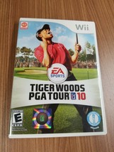 Tiger Woods PGA Tour 10 (Nintendo Wii, 2009) CIB w/ Manual and Case Golf - $11.89
