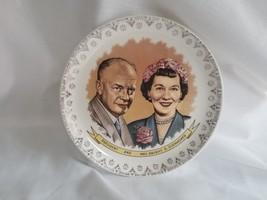 "1950's Era President Dwight ""Ike"" Eisenhower & First Lady Mamie Eisenhow... - $9.50"