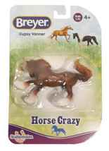 Breyer Stablemates Horse Crazy: Gypsy Vanner Figurine New in Package - $13.88