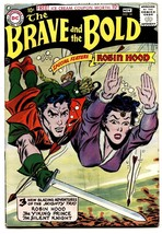 The Brave and the Bold #14 1957- Robin Hood cover-comic book image 1
