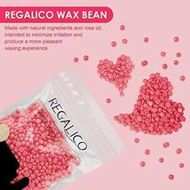 Waxing Kit for Women, Regalico Wax Warmer with 4 Bags Painless Hard Wax Beans Ha image 3