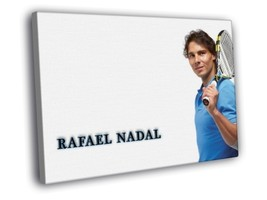 Rafael Nadal Spain Sport Tenis 20x16 FRAMED CANVAS Print - $19.95+