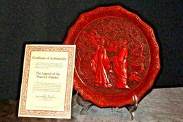 """""""Promise of Love"""" Commemorative Plate by The Ming Dynasty AA20-CP2334 Vintage Ca image 3"""