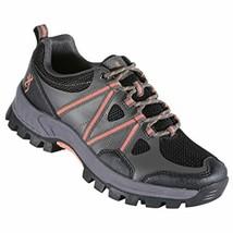 Browning Women's Glenwood Trail Shoe - Black/Coral - $28.99