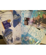 """Lot 4 New Star Wars Some Episode 1 Paper Table Covers 54 by 89"""" Paper Na... - $19.79"""