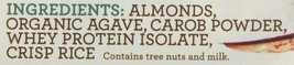 Rise Bar Non-GMO, Gluten Free, Soy Free, Real Whole Food, Whey Protein Bar 17g,  image 10