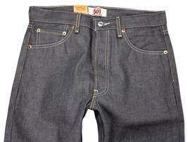 Levi's 501 Men's Original Fit Straight Leg Jeans Button Fly Gray 501-0631 image 4