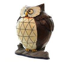 "Jim Shore for Enesco Heartwood Creek 4.37"" Lazy Owl Figurine, 1 Pint image 3"