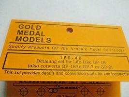 Gold Medal Models # 160-40 Life-Like Detail Set GP-18 GP-18 to GP-7 0r-9 (N) image 4