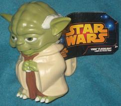 Disney Store Star Wars Yoda Flashlight.  Brand New. 5 inch. Batteries In... - $15.39