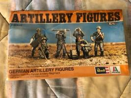 Revell Vint 1976 GERMAN Artillery 6 FIGURES From Panzer Artillery Regime... - $12.57