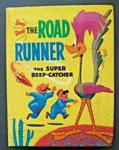 The Road Runner Vintage 1968 The Super Beep-Catcher A Big Little Book #2... - $12.86