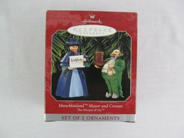 Hallmark Keepsake Ornament Munchkinland Mayor Coroner 1997 Christmas OZ - $18.80