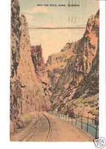 The Royal Gorge, Colorado Post Card N133 - $3.99