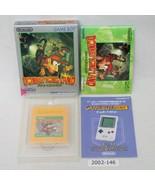 Nintendo Gameboy Donkey Kong Land w/ box working 2002-146 - $17.45