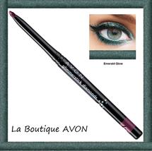 BIG SALE Avon True Colour Diamonds Eyeliner by AVON Emerald Glow 0.28g B... - $4.50
