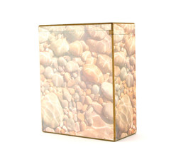 Wood Adult 195 Cubic Inch Funeral Scattering Urn for Ashes - $119.99