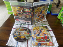 Dragon Ball Z: Ultimate Tenkaichi CIB great shape PS3 Playstation 3 - $18.00